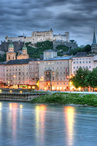 Mozart'ın şehri Salzburg