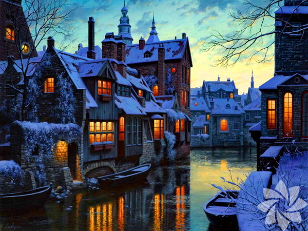 Brugge, Belçika sınırları arasında yer alıyor.