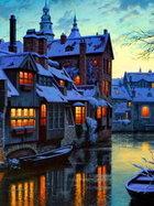 Brugge'ye mini bir tur...
