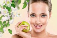 Göz altı morluklarına karşı elma