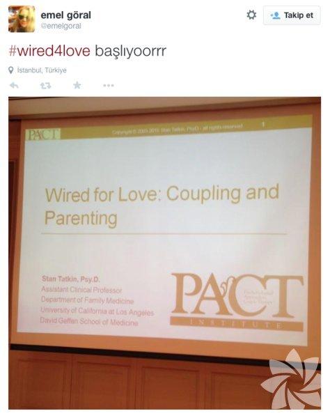 """""""Mutlu ilişkinin sırrı"""" semineri Twitter'da..."""
