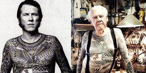 Yaşlanınca dövmeler nasıl görünür?