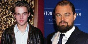 Leonardo DiCaprio'nun yıllar içindeki değişimi...