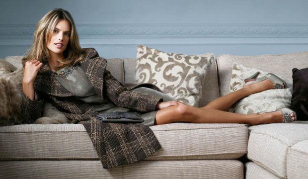 Alessandra Ambrosio'dan battaniye tanıtımı