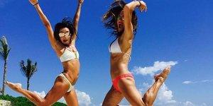Yabancı ünlülerin bikini tercihleri