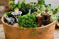 Minyatür bahçe keyfi!