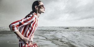 Çizgili giyme sanatının 50 yolu