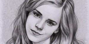 Ünlülerin kara kalem portreleri
