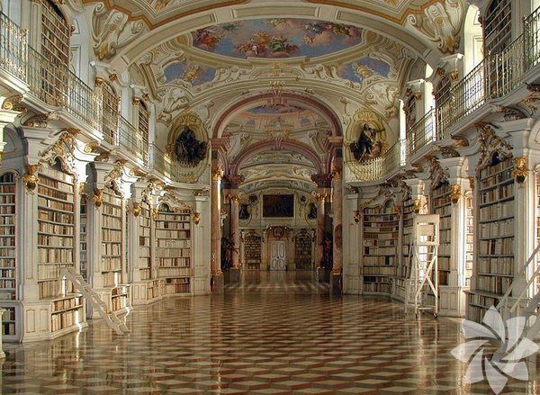 Bir gün bu ülkelere seyahat ederseniz büyüleyici kütüphanelerini gezmeyi unutmayın. Admont Abbey Kütüphanesi - Avustralya
