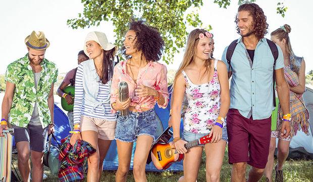 Piknik tadında festival
