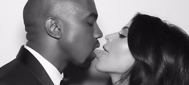 Kim Kardashian'ın düğününden kareler...