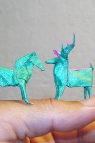 Minyatür origamilerle tanışın