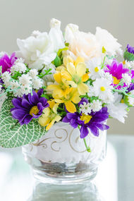 Çiçeklerden mesaj var