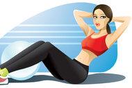 Karın sıkılaştıran egzersizler
