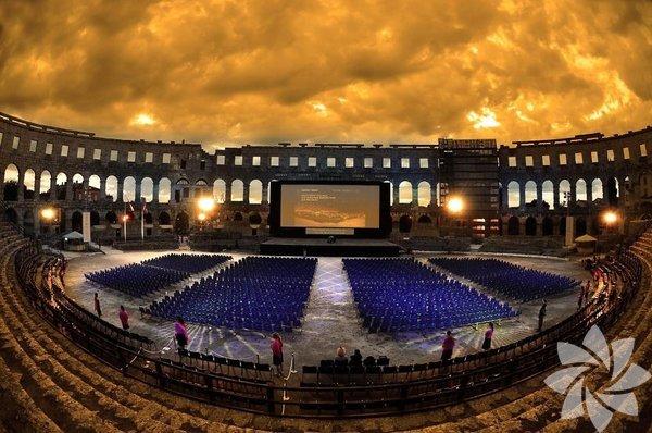 Pula Arena, Hırvatistan