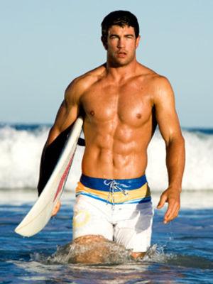 Erkeklere plaj modası