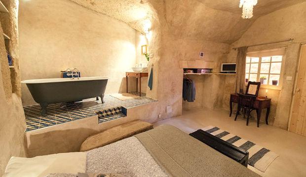 1 euro'ya mağaradan ev!