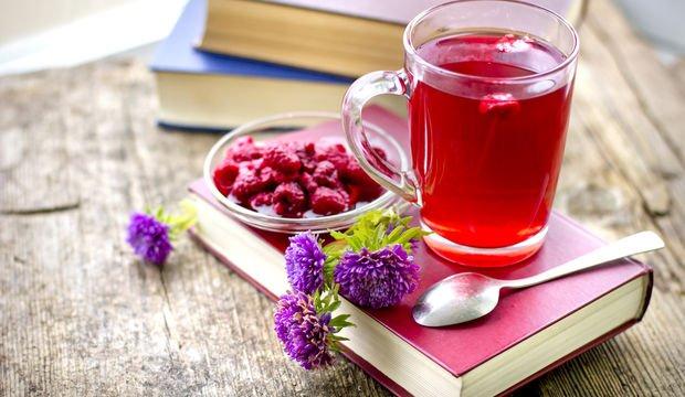 Rahat bir hamilelik için ahududu çayı