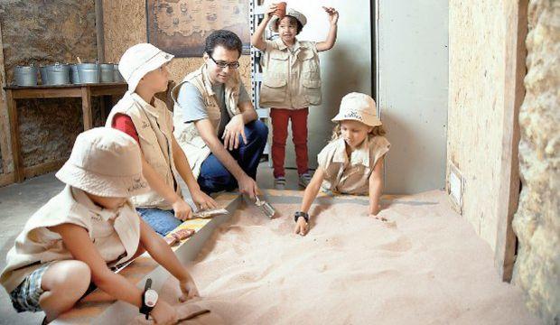 Minik arkeologlar