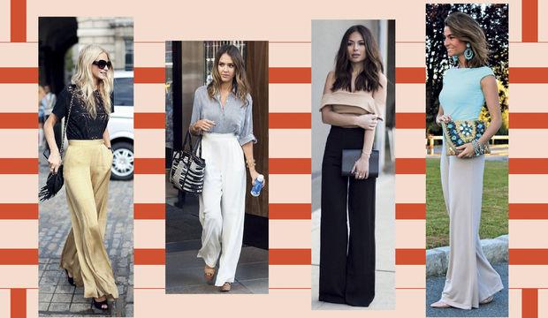 Trend Alarmı: Geniş Paça Pantolonlar