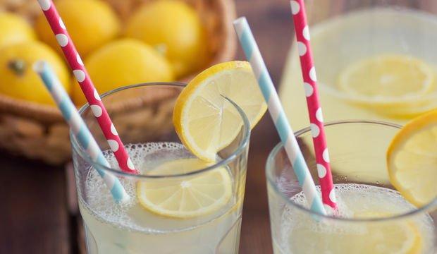 Ev usulü limonata tarifi
