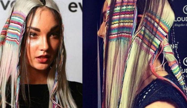 Saçlarda dokuma trendi
