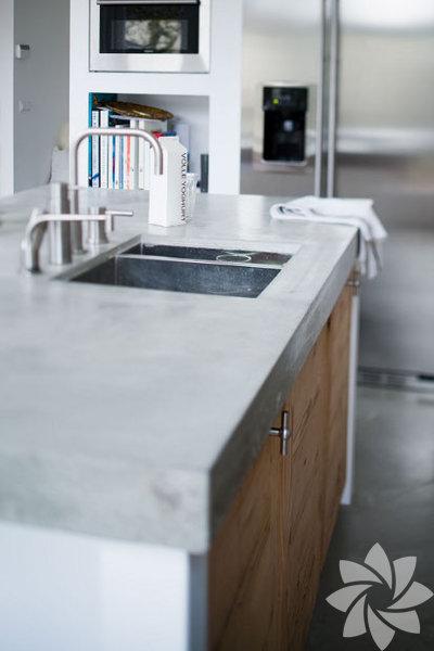 Beton mutfak tezgahı