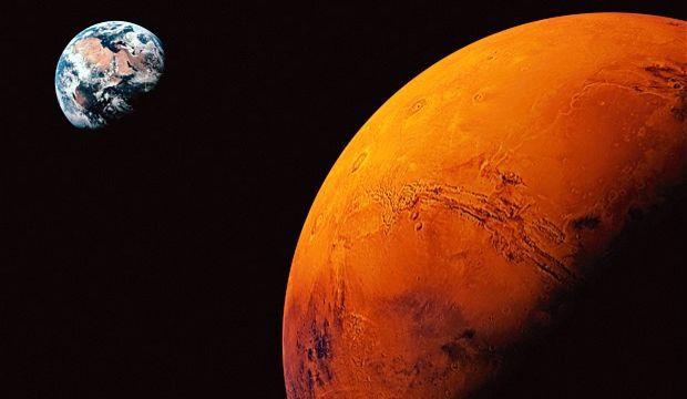 Google'ın yeni Doodle'ı: Mars
