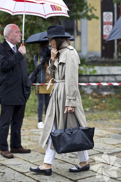 Milano Moda Haftası sokak stili