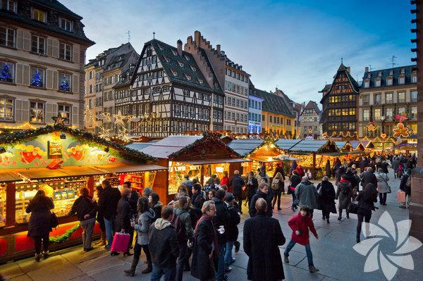 Strazburg, Fransa  27 Kasım - 31 Aralık arası