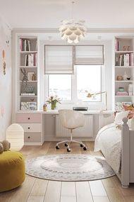 Küçük odalar için 22 harika fikir