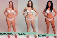 Ülkelere göre ideal kadın vücutları
