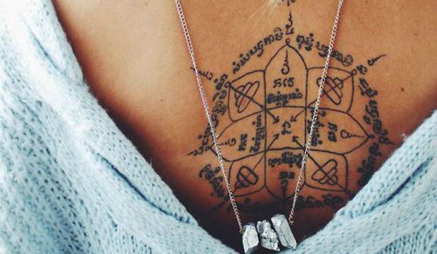 Bu dövmeler cesaret ister