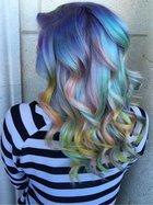 Makaron renkleri saçlarda