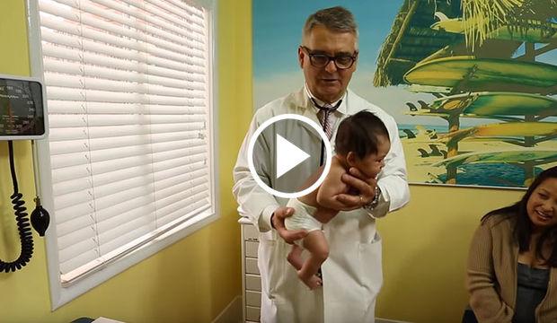 Bir bebeği susturmanın en kolay yolu