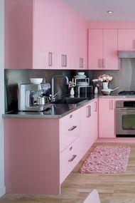 Renkli mutfak dekorasyonları