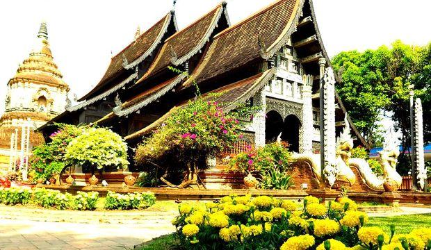 Chiang Mai'de bir tapınak macerası
