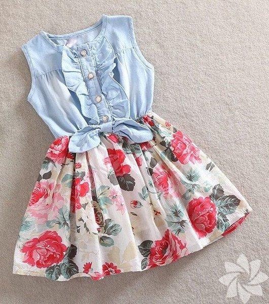 Kız çocukları için elbise modelleri