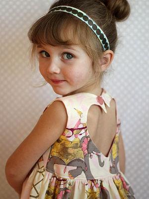 En güzel kız çocuk elbiseleri