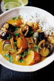 Körili patlıcan yemeği