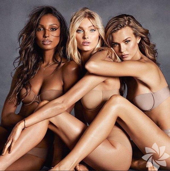ABD merkezli iç giyim firması Vicoria's Secret'in yeni reklam kampanyası çekimleri, dünyanın önde gelen mankenlerini bir araya getirdi.