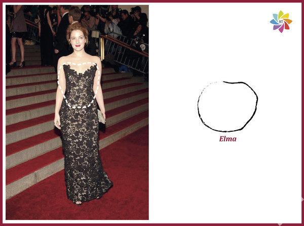 Elma vücut tipi Catherine Zeta Jones, Angelina Jolie, Drew Barrymoore elma vücut tipine sahip ünlüler…