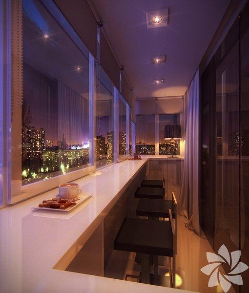 <p>Küçük balkonlarınızı hem rahat hem de şık hale getirebilirsiniz.</p>