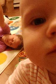 Selfie çubuğu ile annenin bir günü