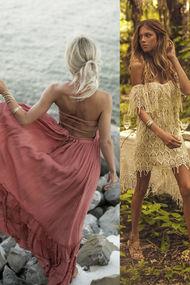 Bu sezon bohem elbise giymek çok moda