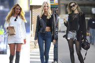 Victoria's Secret modellerinin sokak stili