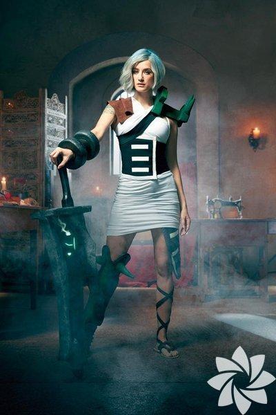 Didem Soydan, bir GSM operatörünün reklam filmi için cosplayer oldu ve League of Legends oyununda yer alan Riven karakterine hayat verdi.