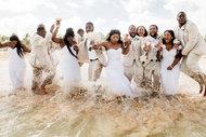 Olağandışı düğün fotoğrafları