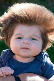 Komik saçlı bebekler