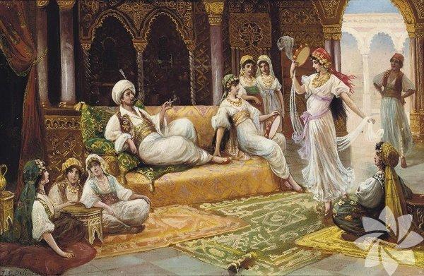 1.Harem kelimesi saray ve konaklarda kadınlara ayrılan bölüm için kullanılırdı. Burada yaşayan kadınlara, eşlere de harem denirdi.